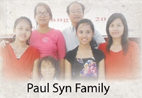 paul syn family